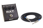 Pro Co Rat2 Distortion Pedal Package