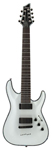 Schecter Hellraiser C7 7 String Electric Guitar White