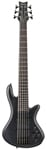 Schecter Stiletto Studio 6 String Electric Bass Guitar See Thru Black