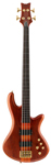 Schecter Stiletto Studio 4 Fretless Electric Bass Guitar