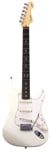 Fender Jeff Beck Stratocaster Olympic White with Case