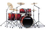Sonor EXTB622 Extreme Force Birch 6-Piece Shell Kit Drum Set