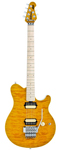 Music Man Axis Floyd Rose Electric Guitar with Case Trans Gold