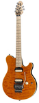 Music Man Axis Floyd Rose Electric Guitar with Case Trans Orange