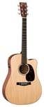 Martin DCPA4 Acoustic Electric Dreadnought Guitar Natural with Case