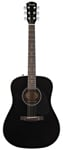 Fender CD60 Acoustic Guitar Black with Case