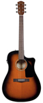 Fender CD60CE Dreadnought Acoustic Electric Guitar Sunburst with Case