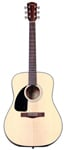Fender CD100 Left Handed Acoustic Guitar Natural