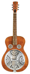 Dobro Hound Dog Deluxe Round Neck Resonator Guitar Vintage Brown