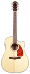 Fender CD280SCE Dreadnought Cutaway Acoustic Electric Guitar