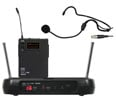 Galaxy ECM UHF Headset Wireless Microphone System