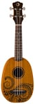 Luna Tattoo Soprano Ukulele with Gigbag