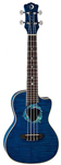 Luna Dolphin Concert Acoustic Electric Ukulele with Gigbag