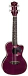 Luna Floral Concert Acoustic Electric Ukulele with Gigbag