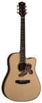 Luna AME100 Americana Eagle Acoustic Electric Guitar