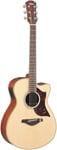 Yamaha AC1 Cutaway Acoustic Electric Guitar with Case