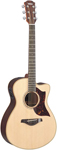 Yamaha AC3 Cutaway Acoustic Electric Guitar with Case