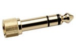 KRK KNS 1/8 Inch to 1/4 Inch Screw In Headphone Adapter
