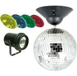 ADJ MB8 Combo Mirror Ball Kit