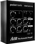 AER Pocket Tools Dual Para EQ Parametric 2-band Equalizer