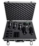 AKG Rhythm Pack 6 Piece Professional Drum Microphone Set With Case