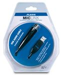 Alesis MicLink AudioLink XLR to USB Microphone Cable