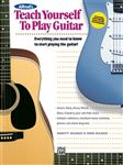 Alfred's Teach Yourself to Play Guitar Book and CD
