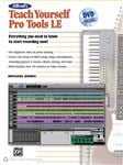 Alfreds Teach Yourself Pro Tools LE Book and DVD