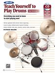 Alfred's Teach Yourself to Play Drums 2nd Edition Book and CD