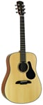 Alvarez AD30 Dreadnought Acoustic Guitar Natural