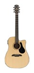 Alvarez AD30CE Dreadnought Acoustic Electric Guitar