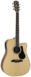 Alvarez AD60CE Dreadnought Acoustic Electric Cutaway Guitar Natural