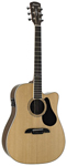 Alvarez AD70CE Dreadnought Acoustic Electric Cutaway Guitar Natural