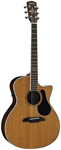 Alvarez AG75CE Grand Auditorium Acoustic Electric Cutaway Natural