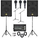 AMS - Behringer Power Pack PA System - Upgraded