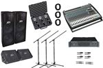 AMS Behringer Peavey Tour Portable PA System Upgraded