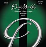 Dean Markley Signature Series DTune Electric Guitar Strings 13-56