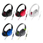 Audio Technica ATH-AX1iSBK SonicFuel Headphones for Smartphones
