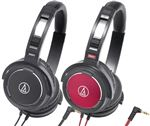Audio-Technica ATHWS55 Solid Bass Over Ear Headphones