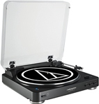 Audio Technica AT-LP60BK-BT Bluetooth Wireless Stereo Turntable Black
