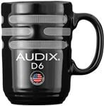 Audix D6 Kick Drum Microphone Coffee Mug Black