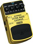Behringer BUC400 Ultra Bass Chorus Effects Pedal