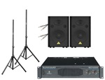 Behringer EP4000 Power Amp with VS1520 Speakers Package