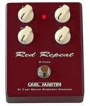 Carl Martin Red Repeat Delay Effects Pedal