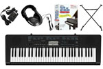 Casio CTK2300 61 Key Portable Personal Keyboard EPA Package