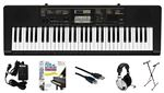 Casio CTK-2400 61-Key USB Keyboard with Power Supply