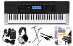 Casio CTK-4400 61-Key Keyboard Learn to Play Package