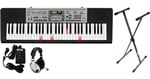 Casio LK175 61 Key Lighted Portable Keyboard Premium Package