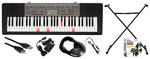 Casio LK240 61 Key Lighted Keyboard Pack with Instructional Software