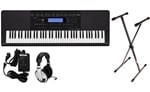 Casio WK245 76 Key Workstation Keyboard Premium Package